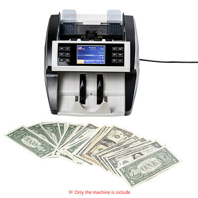 Auto Currency Counter Count Detector Money Fast Banknote Bill Cash Machine F7Y3
