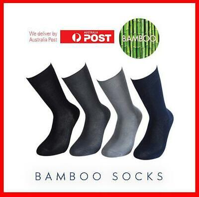 2 Pairs 97% Bamboo Men Fiber Thin Durable Summer Socks Men's Light Cushion Work