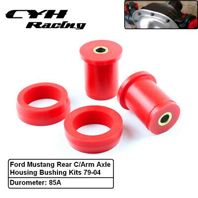 Polyurethane Rear Control Arm Axle Housing Bushing Kits For Ford Mustang 79-04