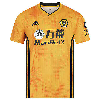Wolves official home adult shirt for the 2019/20 season