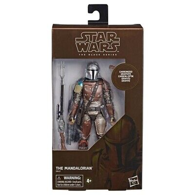 Target Excl Star Wars The Black Series Carbonized Collection The Mandalorian