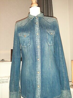 Vintage Womens Denim Wrangler Shirt