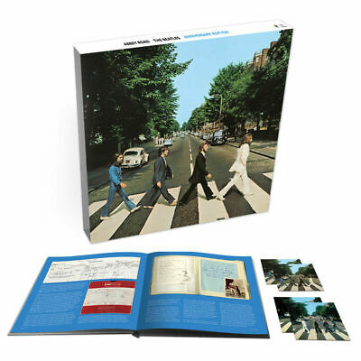 "CDB THE BEATLES ""ABBEY ROAD -ANNIVERSARY EDITION 3CD + BR BOX-"".New and sealed"