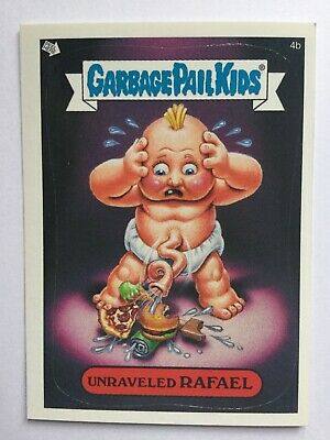 Garbage Pail Kids All New Series 2 Topps Sticker 15a Skid Mark
