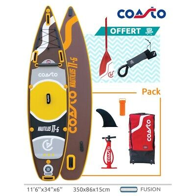 Stand Up Paddle Coasto Nautilus 116 Longueur 350 cm