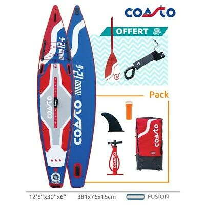 Stand Up Paddle Coasto Turbo 126 Longueur 381 cm