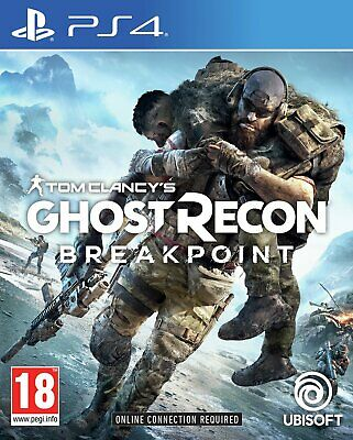 Ghost Recon Breakpoint Sony Playstation PS4 Game 18+ Years