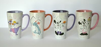 Disney Parks EPCOT Food And Wine Festival 2019 Passholder Mugs Set Of Four New
