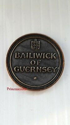 Royal Mint Issued Of Bailiwick Of Guernsey Medal Token