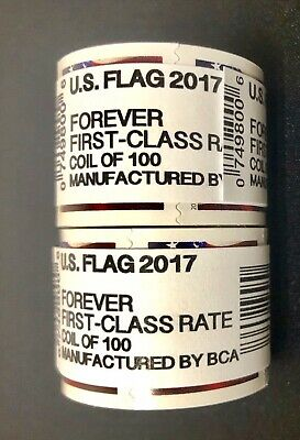 500 USPS FOREVER STAMPS 2017 5 rolls of 100 FREE SHIPPING