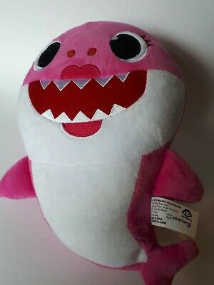 Pink fong baby shark song mommy doll plush toy by Wow wee official