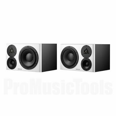 Dynaudio LYD-48 White - Left & Right - PAIR BUNDLE SET * NEW * lyd48 monitors