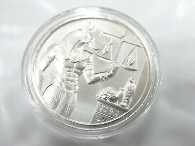 Scarab .999 Silver Bug 2 oz Art Medal 1st in Series UHR Round High Relief JY250