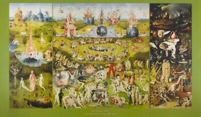Hieronymus Bosch - The Garden Of Earthly Poster (46x26inches) #41230