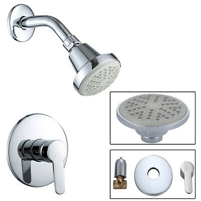Spray Shower Faucet 1-Handle 1-Spray With Valve 1016P In Chrome Hot Cold Control