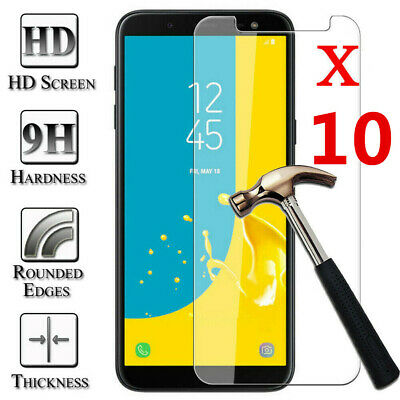 [10-pack] Tempered Glass Film Screen Protector For Samsung Galaxy J2 CORE J260