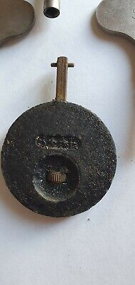 Vintage 2X Smiths Mantel Clock Keys With 1 Smiths Pendulum