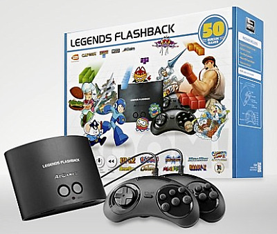 ATGames Legends Flashback HDMI Game Console with 50 Built in Classic Retro Games