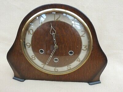 "Vintage Smiths ""Kennedy"" Westminster Chime Mantel Clock For Tlc"