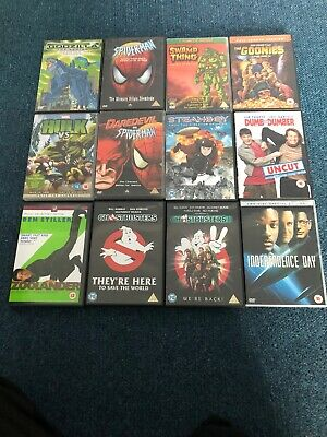 Selection Of Family DVD Films And Cartoons