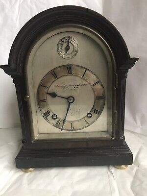 Goldsmiths & Silversmiths Co. Ltd, 112 Regent Street, small Bracket Clock