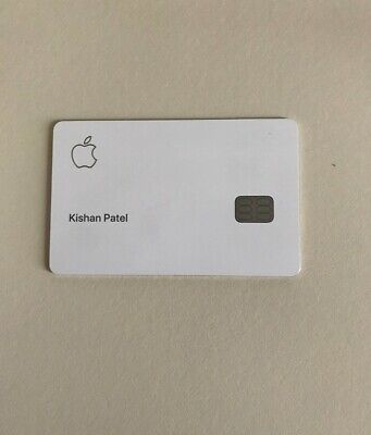 APPLE CREDIT CARD Metal -Titanium BRAND NEW - An iPhone Apple Collectors Item
