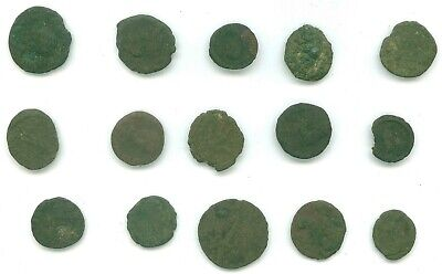 15 Ancient Coins Some Roman Coins Lot 11