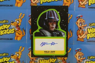 Journey To Star Wars The Rise Of Skywalker Autograph Stefan Grube Yolo Ziff 7314