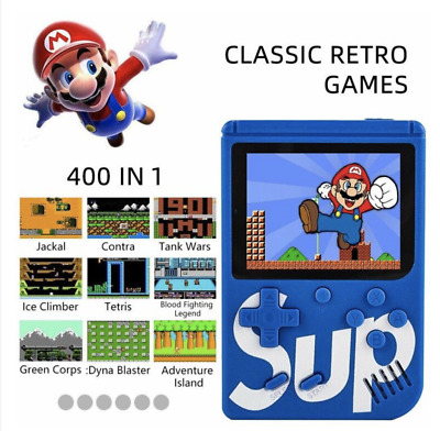 SUP Built-in 400 Classic Games Mini TV Handheld Game Box Console Retro NES 2019