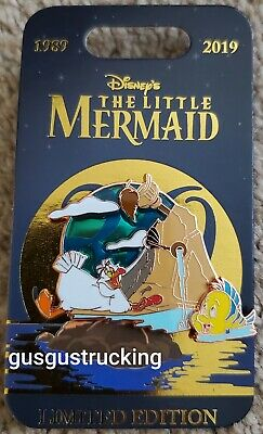 New Disney Parks PTN (Little Mermaid 30th Anniversary - Scuttle & Flounder) Pin