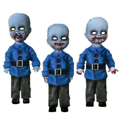 Living Dead Dolls Oz Mini Munchkins 3 Pack Scary Halloween Decor Highly Detailed