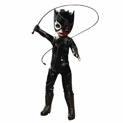 "LDD Presents Batman Returns Catwoman 10"" Living Dead Doll Vinyl Catsuit"