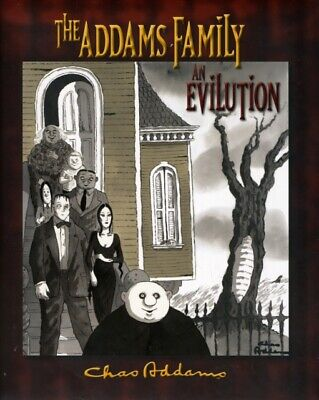 The Addams Family: An Evilution (Hardcover), Miserocchi, H.Kevin