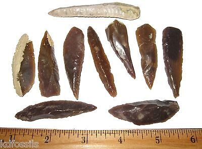 Paleolithic flint spear point North Africa Palaeolithic stone age Morocco nice