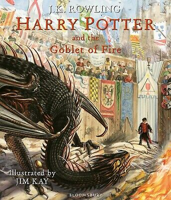 Harry Potter and the Goblet of Fire: Illustrated Edition Hardcover | Fast deliv