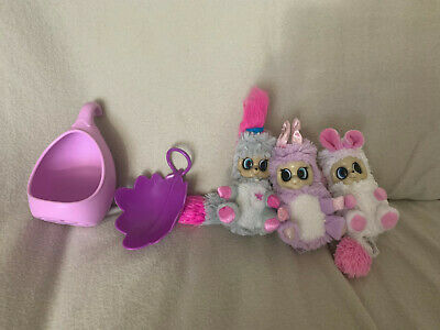 Bush baby babies bundle of 3 with pod and leaf