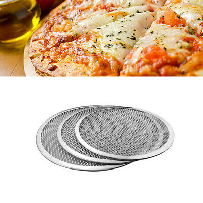 Pizza Baking Pan Thickened Aluminium Pizza Tray Non-stick Scratch Resistant