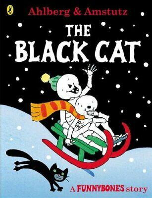 Funnybones: The Black Cat by Allan Ahlberg 9780141378718 | Brand New