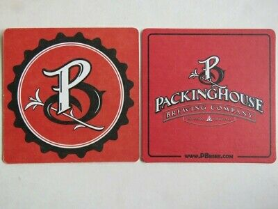 Beer Brewery Collectibe Coaster: PACKINGHOUSE Brewing Co ~ Riverside, CALIFORNIA
