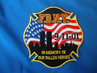 Patch - FDNY - 9-11-10 - In Memory of Our Fallen Heroes