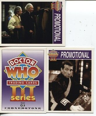 Dr Doctor Who Series 3 Promo Card Set C1-C3 - Lot Of 10 Sets