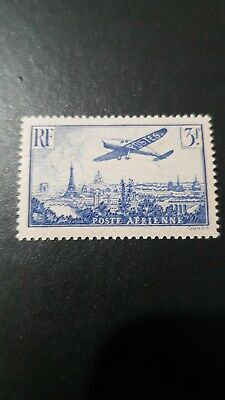 France Timbre Poste Aérienne Pa N°12 Neuf ** Luxe Mnh Cote 45€