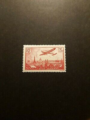 France Timbre Poste Aérienne Pa N°11 Neuf ** Luxe Mnh Cote 50€