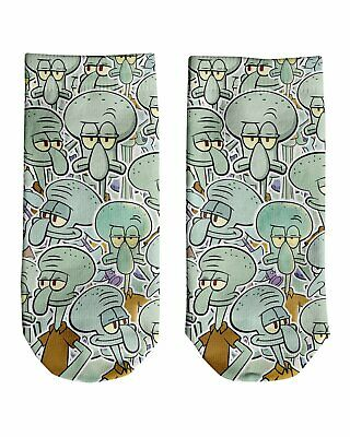 Squidward Tentacles Ankle Socks