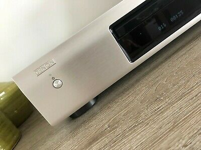 Denon DCD 520AE Compactdisc CD-Player Silver with Remote.