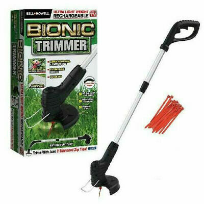 2019 Bionic Trimmer The Rechargeable Portable Garden Trimmer Weed Wacker Foldab
