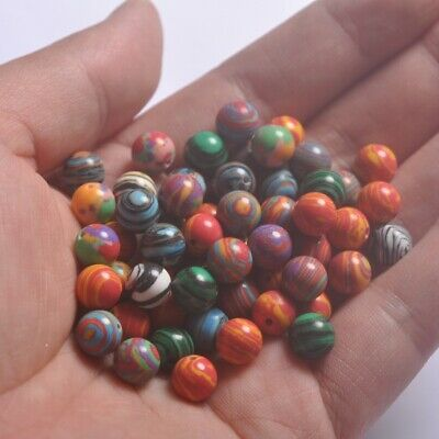 Natural Gemstone Malachite Round Spacer Loose Beads 4MM 6MM 8MM 10MM 12MM