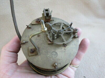 Antique French S Marti Striking Clock Movement For Spares Or Repair