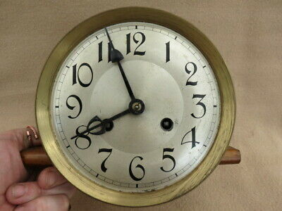 Antique Phillip Hass Wall Clock Movement For Spares Or Repair
