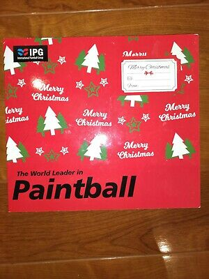 Paintballing voucher - IPG (International Paintball Group)